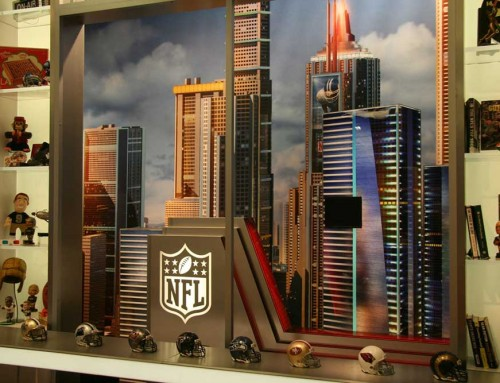 NFL Talk Show Set
